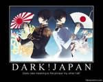 Dark Japan Motivational Poster