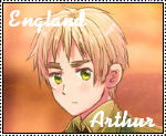 APH Hetalia England Stamp by 0Eve