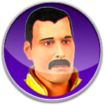 Freddie Mercury Queen Icon by datamouse