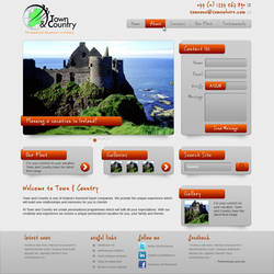 Irish Vacation Site Mock by datamouse
