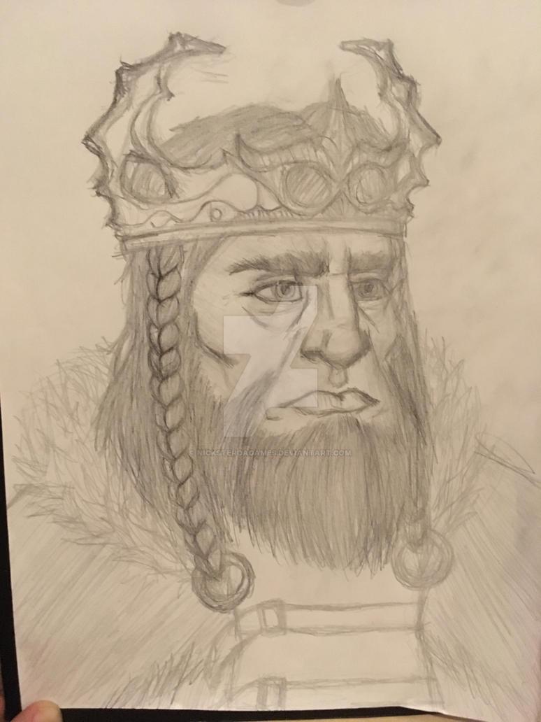 King Vendrick - Dark Souls 2 by NicksterDagames