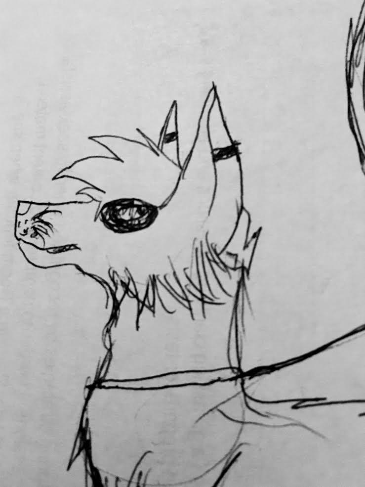 Doodle dog by One-EyedHawk