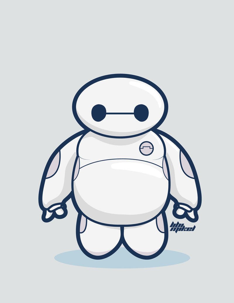 Big Hero 6 Baymax Chibi By Levy009 On Deviantart