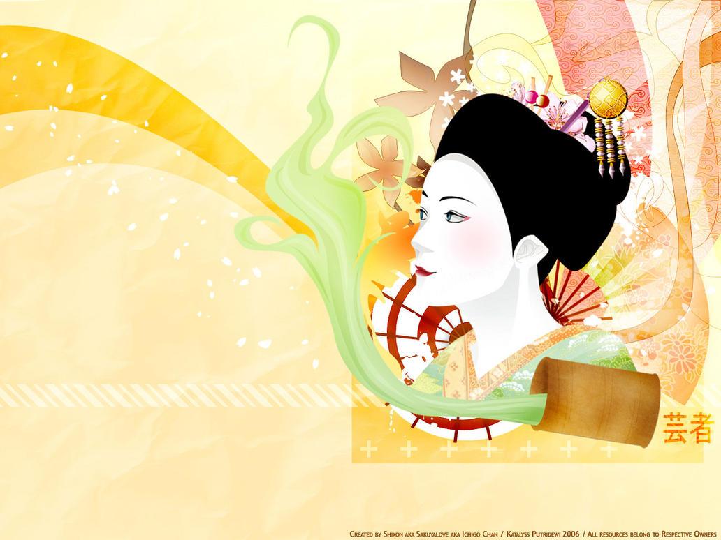 Love of geisha by shuupi on DeviantArt