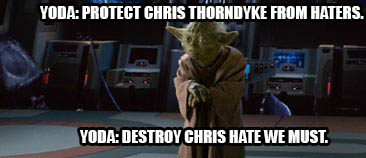 Yoda Protects Chris by heroicsonnyjim