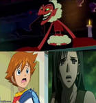 Chris and tifa are scared of HIM