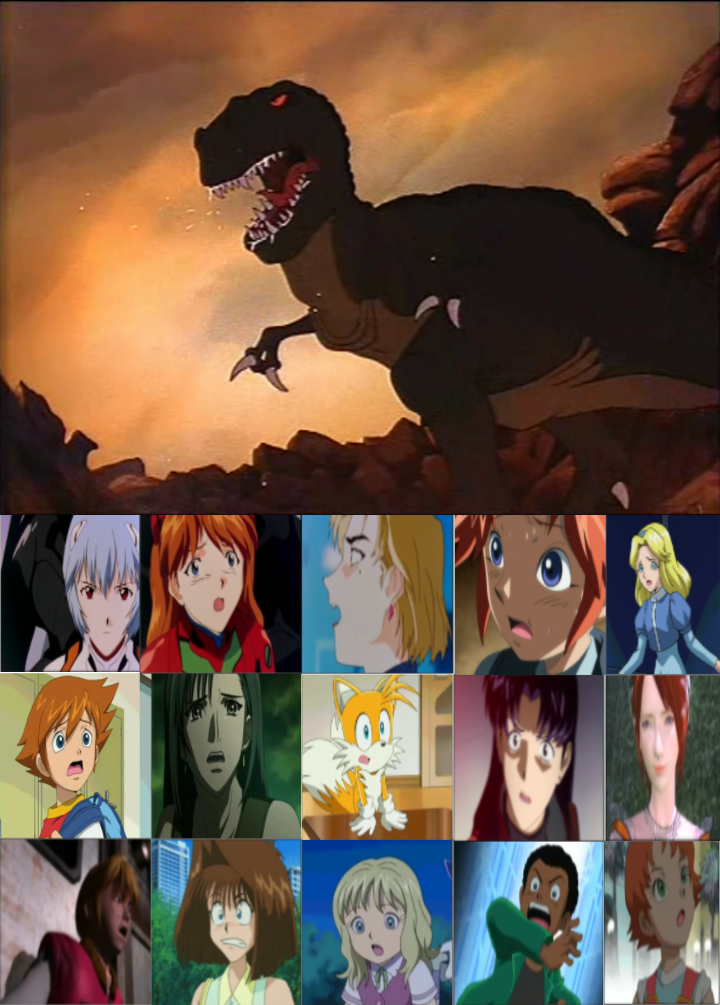 Chris Tifa And Co Family Are Scared Of sharptooth by heroicsonnyjim