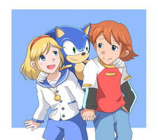 Chris, Sherry And Sonic