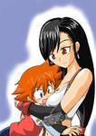 chris x tifa as mommy and son