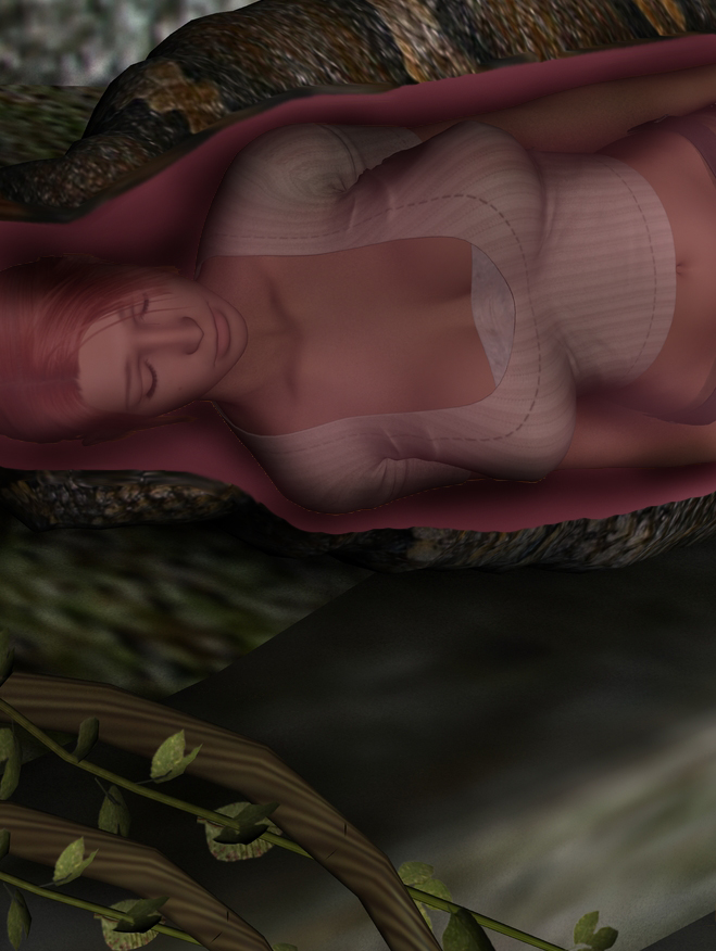 Scarlet Croft and Kaa 22 by swiftbladez