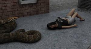Backalley victim 1 by SnakePerils