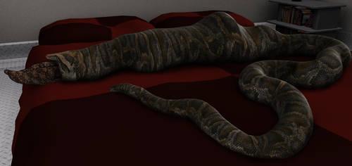Bedtime snack 2 by SnakePerils