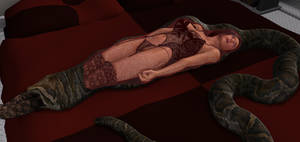 Bedtime snake inner shot by SnakePerils