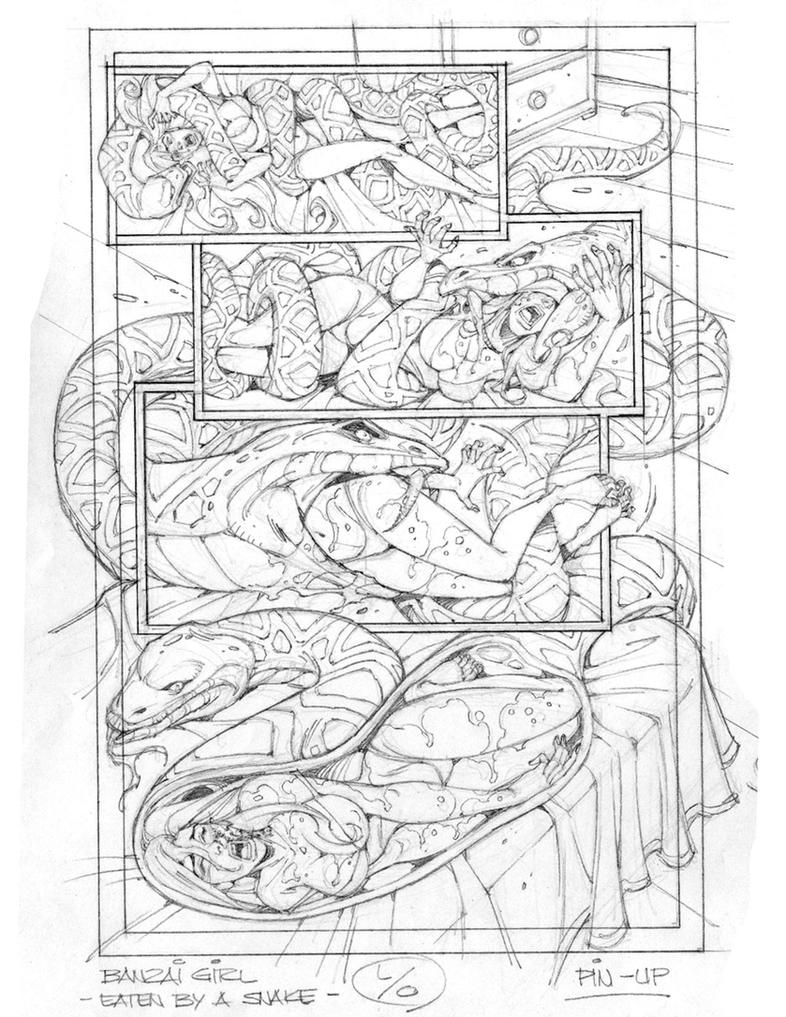 Scraps - Banzai Sketch by swiftbladez