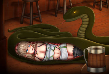 Elf Happy Hour by SnakePerils