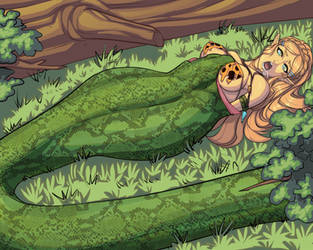 Jungle Elf 2 (External) by SnakePerils