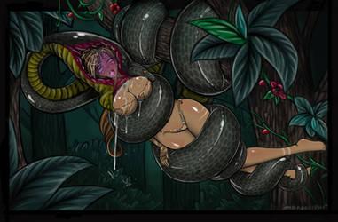Nidalee Troubles pt2 by SnakePerils