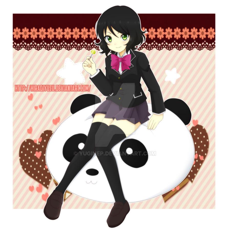 Pandaaaa by HiragiYuzu