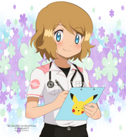 CM: Serena Paramedic by YugiNep