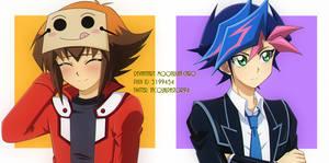 Yusaku y Judai x2