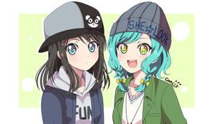 Misaki and Hina