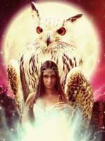 Owl Magic by Ewariel
