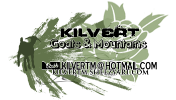 Goats and Mountains - Splash by kilvertm