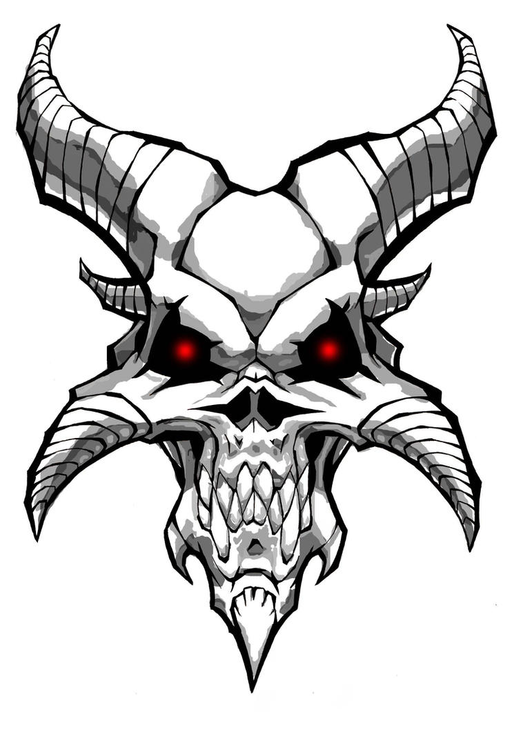 Anybody up for a logo request ign boards - Devil skull wallpaper ...