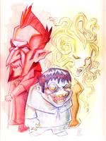 vampire gremlin gorgon by williamsquid