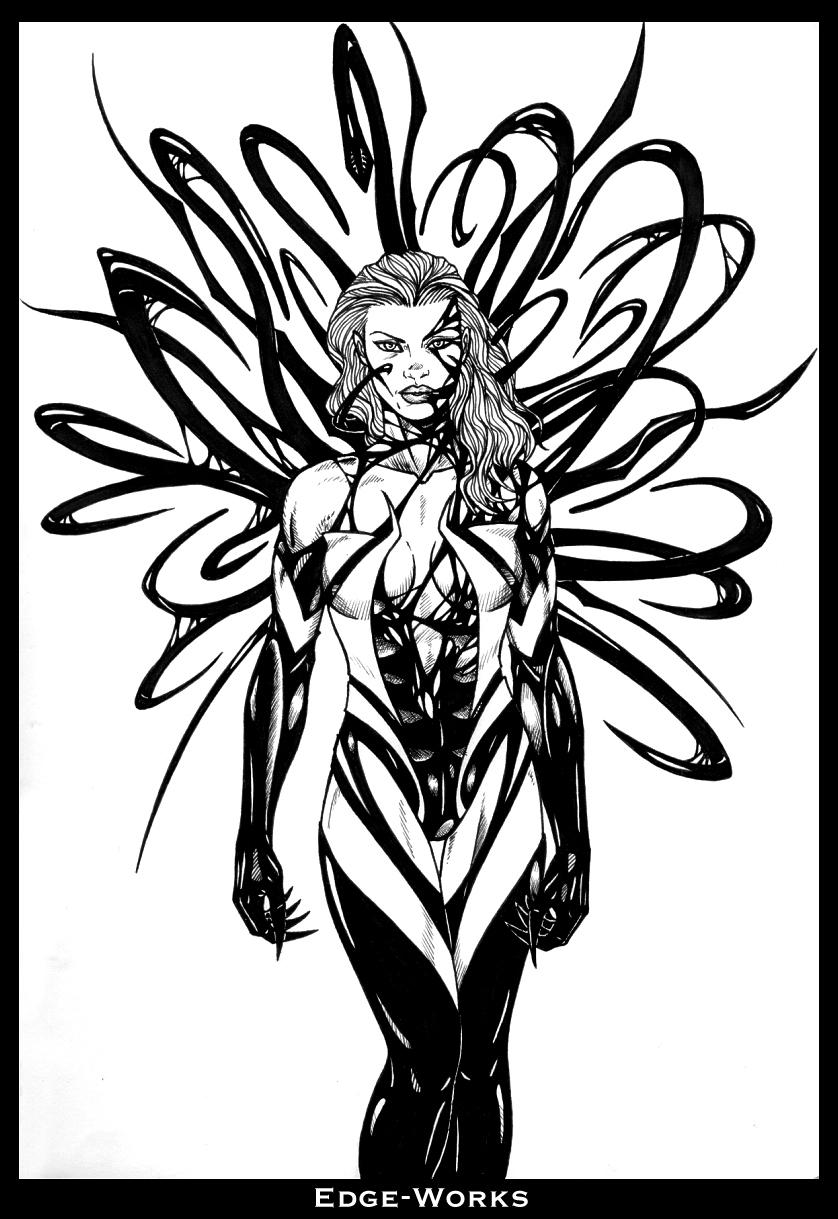 She-Hulk Symbiote by Edge-Works