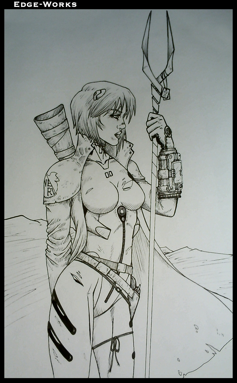 Rei Ayanami Fallout by Edge-Works