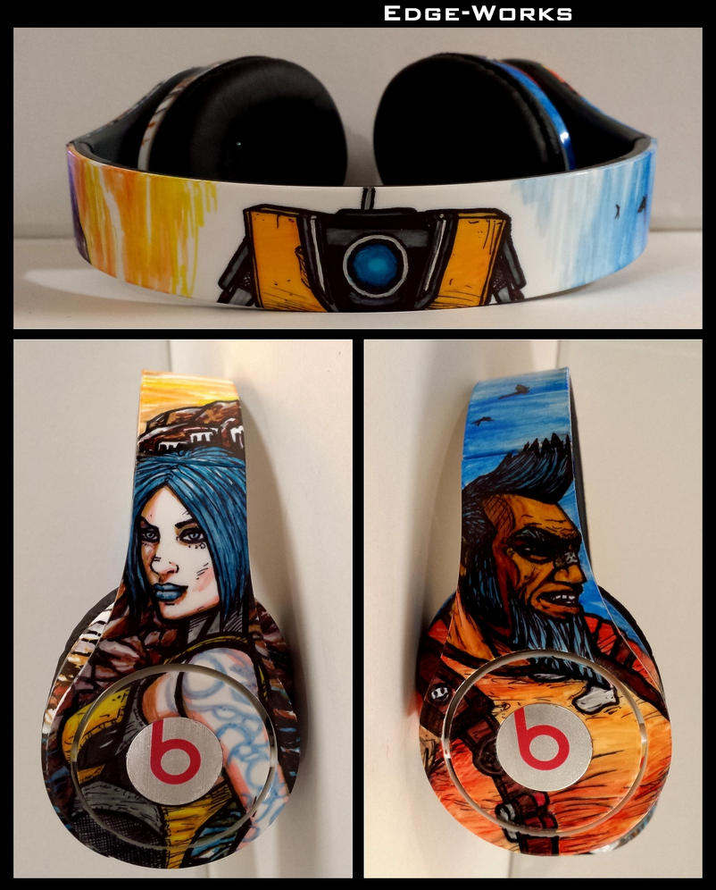 Borderlands 2 Maya/Salvador/ClapTrap Headphones by Edge-Works