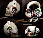 Joker and Harley Mad Love Headphones