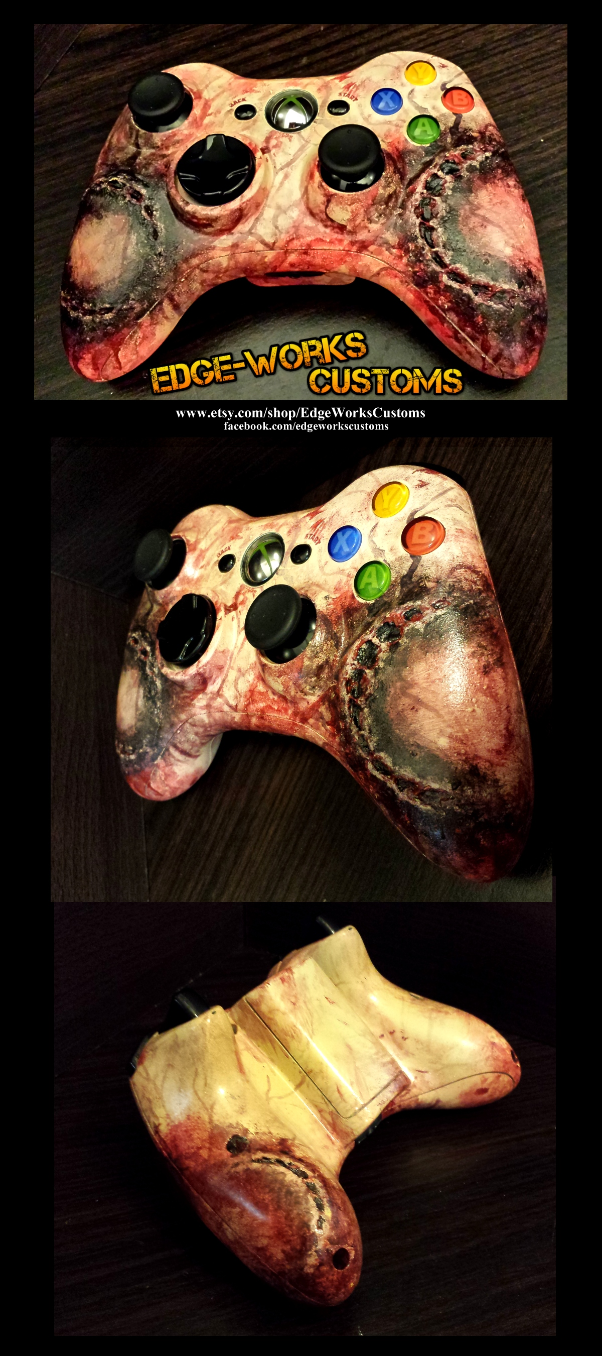 XBOX Zombie Bite Infection Controller by Edge-Works
