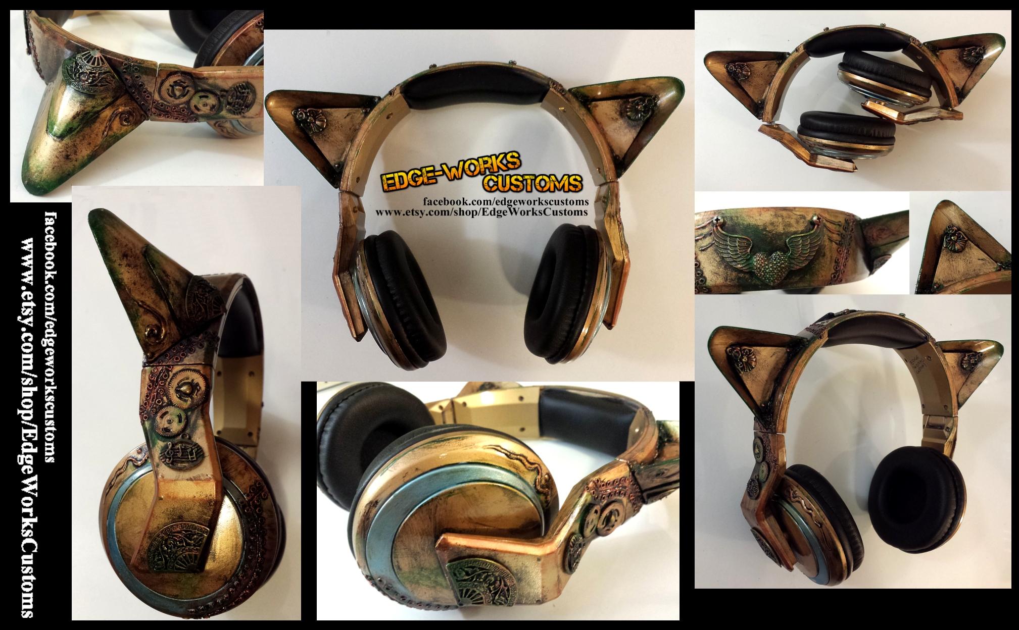 SteamCat Headphones by Edge-Works