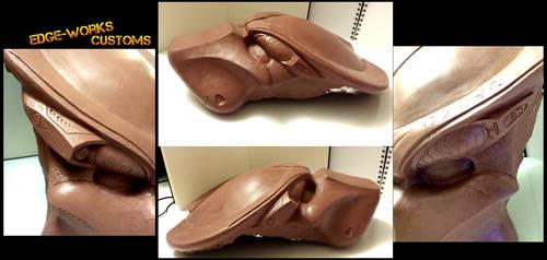 Predator Bio Helmet sculpt Veritas details