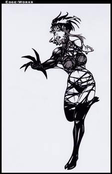 Commission Hinata and symbiote 3
