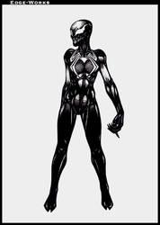 Commission Hinata and symbiote 4