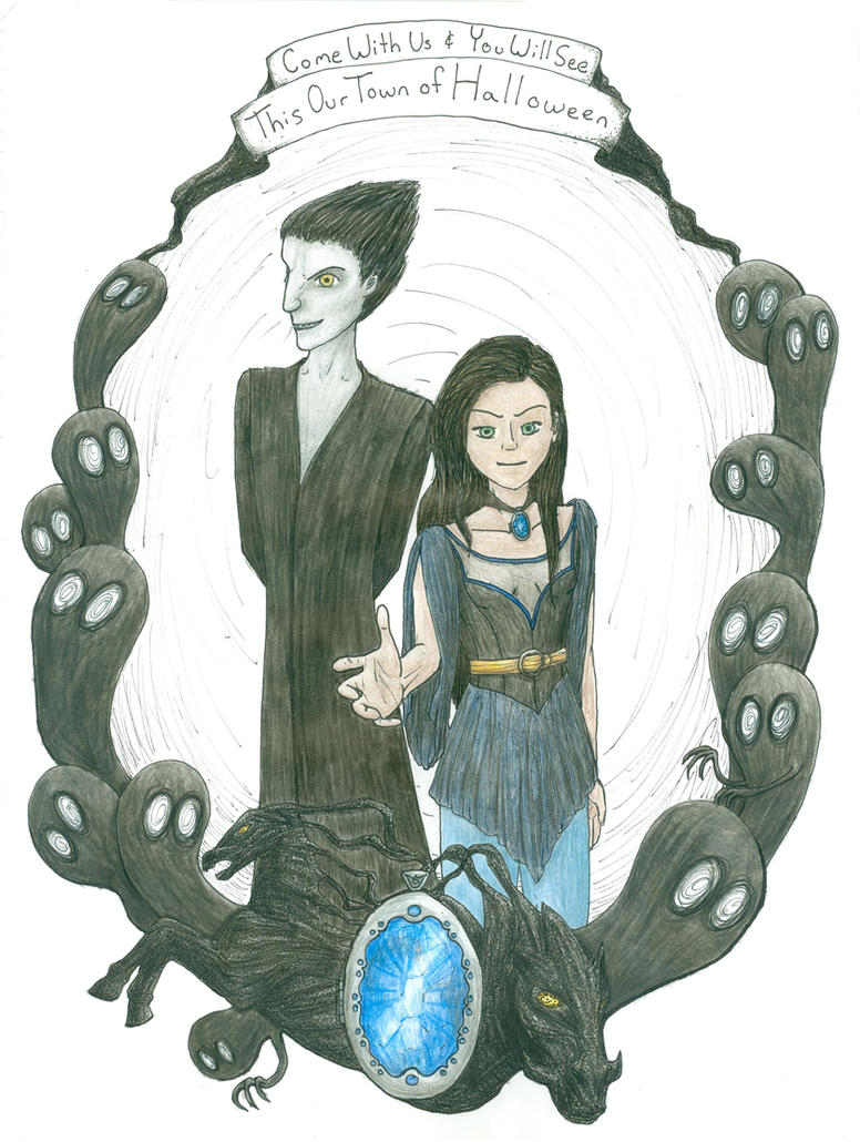 Villainous Halloween by annamae411