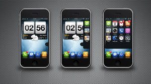 My iPhone 3GS by darkmind86