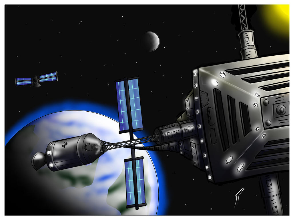 Kerbal Space Station by TerrenceP