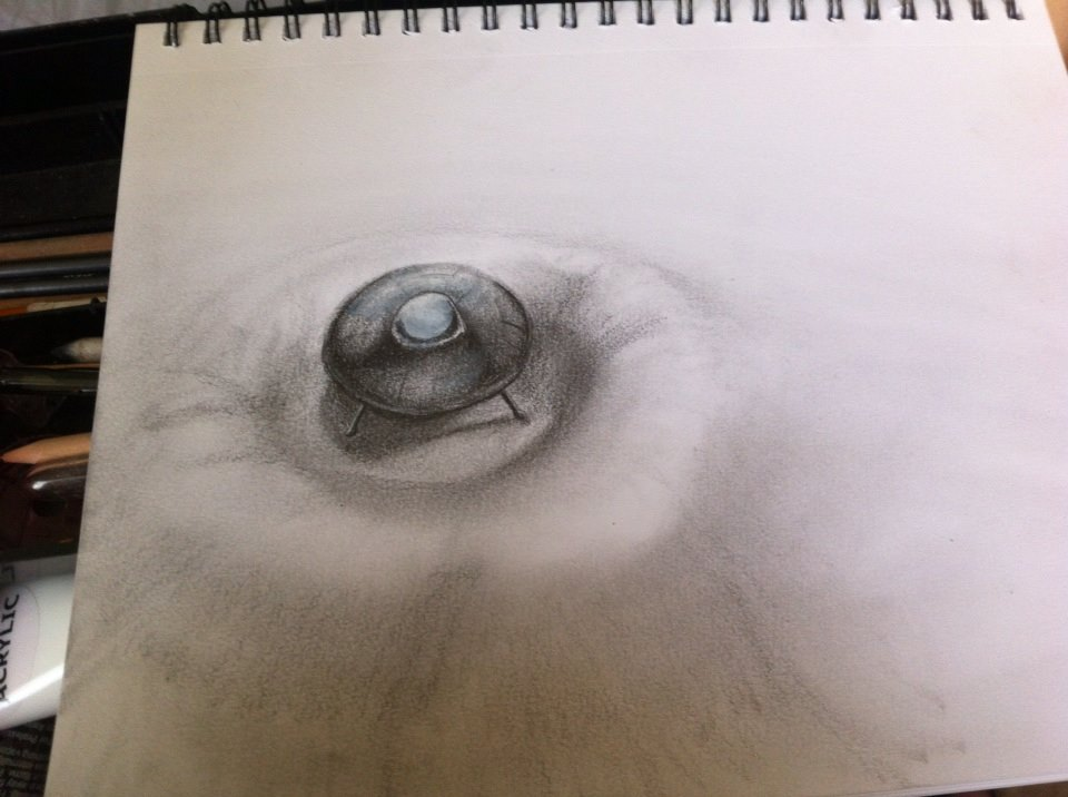 UFO on Sketch Pad by TerrenceP