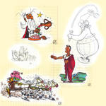 Asterix Collage by CharlieFleed