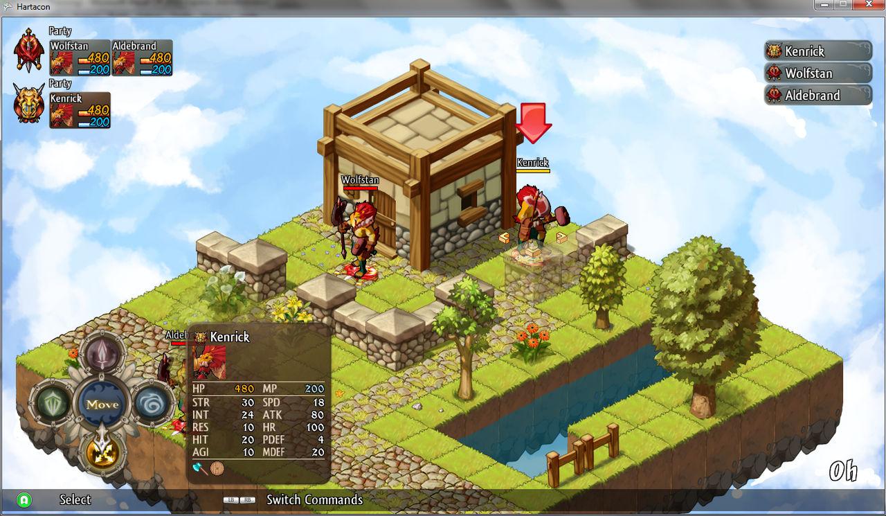 Hartacon Tactics - Battle 2/6/2013