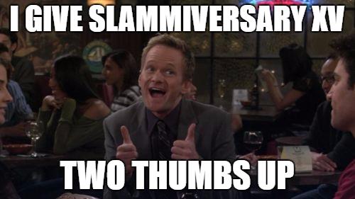 Barney Stinson Win-Slammiversary by EarWaxKid