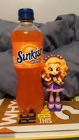 Adagio Dazzle loves Sunkist Orange