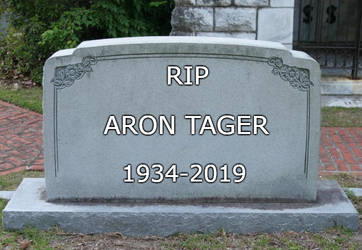 RIP Aron Tager 1934-2019 by EarWaxKid