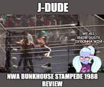 J-Dude Title Card 366 by EarWaxKid