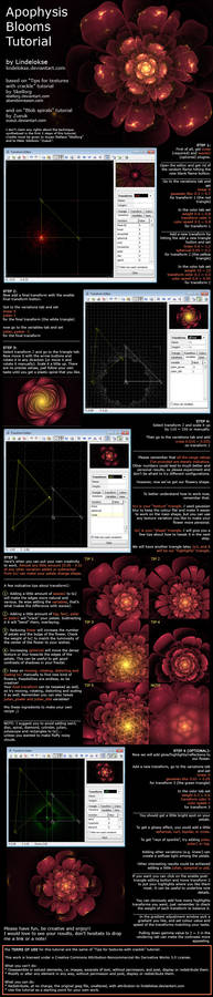Apophysis Blooms Tutorial