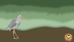 Heron by Rainthatfalls